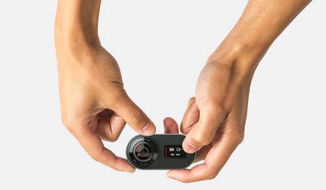 Diminutive 360-Degree Cameras