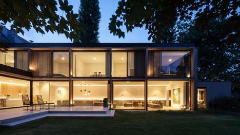 Glass-Paneled House Extensions