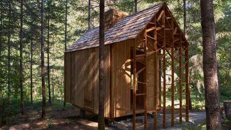 Timber-Built Tiny Classrooms - The Emerge Cabin was Designed and Built in Three Weeks by Students
