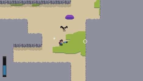 Cave-Exploring Indie Games