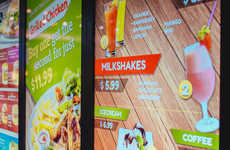 Responsive Drive-Thru Signage - Samsung's Outdoor Digital Signage Changes Based on Variables
