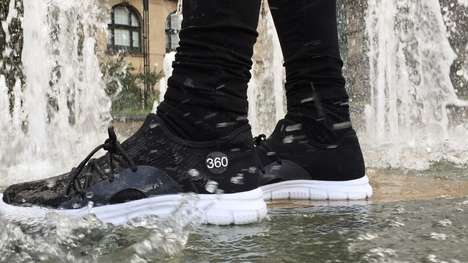 Waterproof Knitted Leisure Shoes