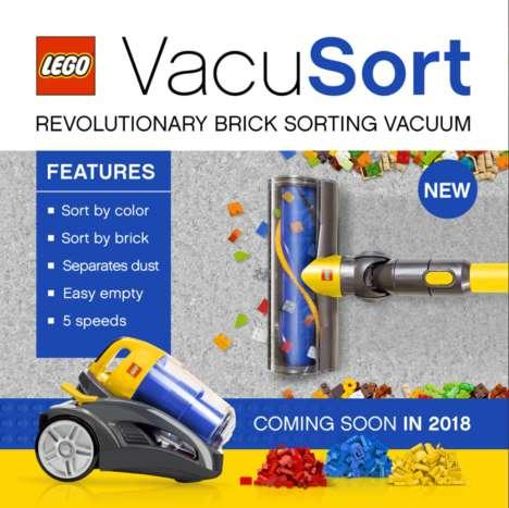 Spoof LEGO Vacuum Cleaners