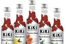 Clean-Ingredient Maple Beverages - The All-Natural KiKi Maple Sweet Water Contains 99.5% Maple Sap