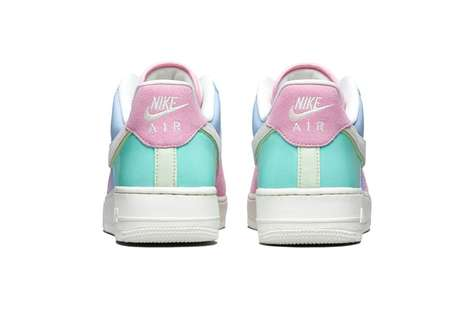 Pastel Easter-Themed Sneakers