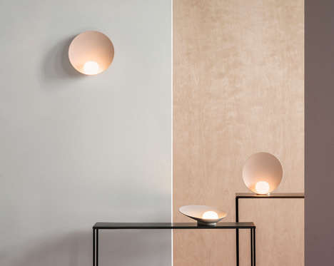 Seashell-Inspired Lighting Series