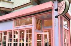 Cosmetic Cafe Pop-Ups - Glossier at Rhea's Cafe Offers a Place to Shop, Socialize and Eat