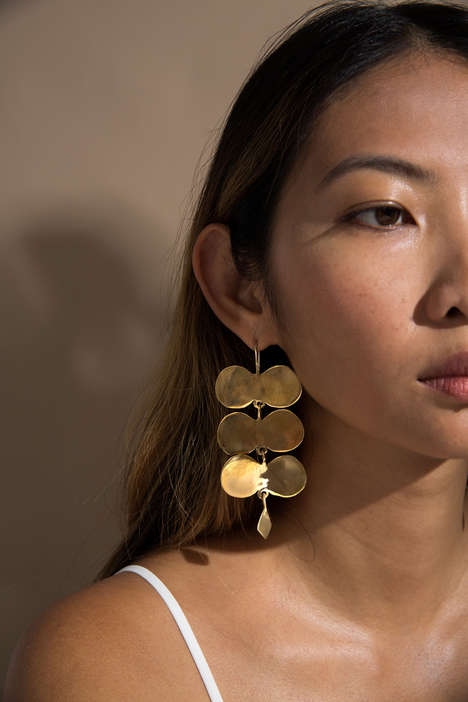 Sculptural Ancient Jewelry Pieces - Ariana Boussard-Reifel Brings Modernity to Traditional Designs