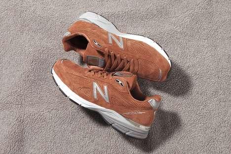 Premium Pigskin Suede Sneakers