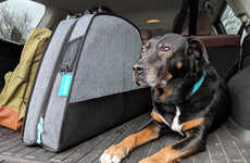 Travel-Friendly Dog Beds - Spruce Pup's Portable Dog Beds Emphasize on-the-Go Convenience