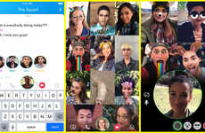 Expansive Group Chat Features - The Snapchat Group Chat and Mention Feature Bring New Lie to the App