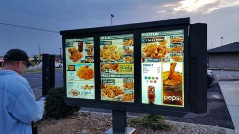Interactive Menu Board Kiosks - Long John Sliver's Drive-Thrus Will Now Feature Interactive Menus