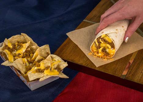 Gooey Three-Cheese Burritos