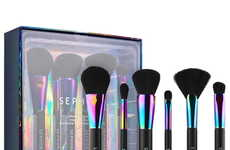 Magnetic Makeup Brush Sets - This Six-Piece Sephora Collection Brush Set Has a Frame for Fast Drying