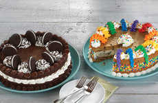 Ice Cream Cookie Cakes
