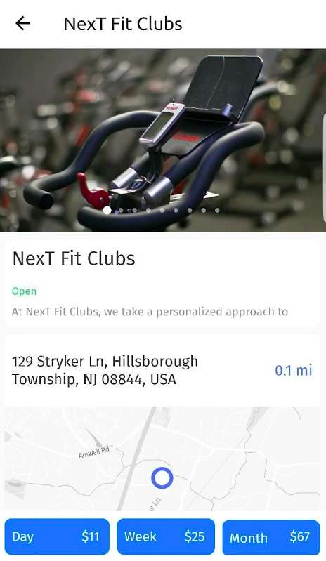 On-Demand Gym-Finding Apps