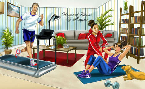 Home-Style Public Gyms