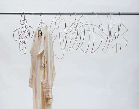 Abstract Clothes Hangers
