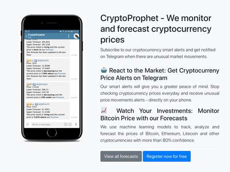 Market-Monitoring Cryptocurrency Apps