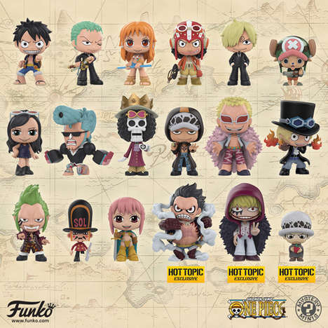 Miniature Anime Themed Collectibles