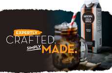 Prepackaged Coffee Concentrates - The NESCAFÉ Cold Brew Coffee Concentrate is Simple and Delicious