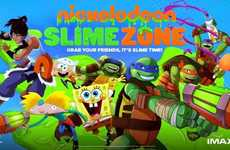 Multiplayer VR Game Experiences - Nickelodeon and IMAX Corporation Debut Kid-Friendly Game SlimeZone