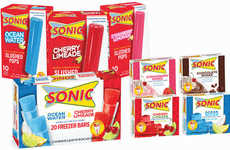 Fast Food-Branded Popsicles - Sonic's Iconic Flavors are Now Available at Grocery Stores