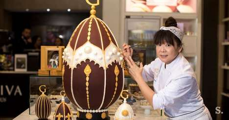 Massive Chocolate Easter Eggs - Godiva Created the Most Expensive Chocolate Easter Egg This Holiday
