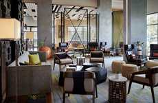 Next-Gen Hotel Concepts - The Marriott Irvine Spectrum Showcases New Hotel Innovations