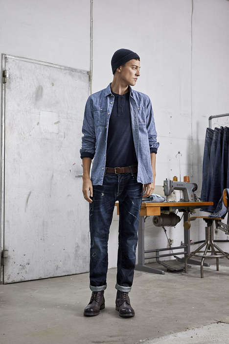 Sustainable Denim Lookbooks