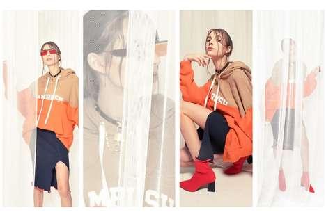 Delicate Tomboy Fashion Photoshoots