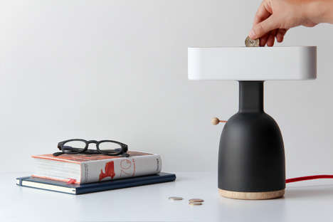 Chic Coin-Operated Lamps