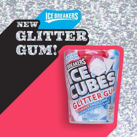 Glittering Chewing Gums