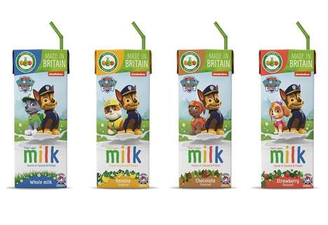 Flavorful Prepackaged Child Milks
