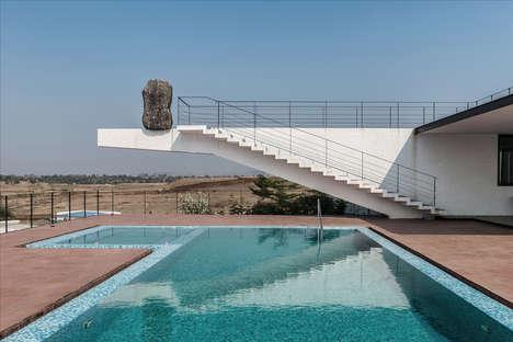 Rock-Integrating Architectural Designs