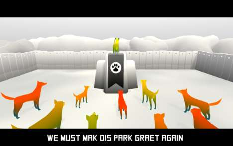 Satirical Canine Games