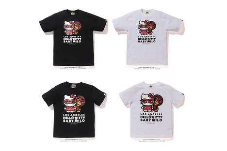 Cartoon Cat T-Shirt Collaborations