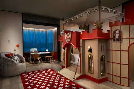 Fantasy-Themed Hotel Suites