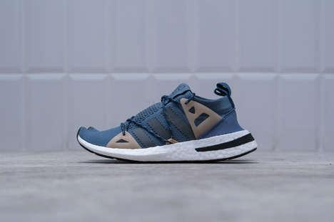 Sleek Futuristic Sneaker Silhouettes