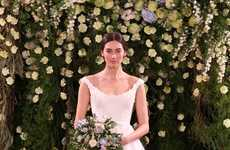 Classically Elegant Bridal Gowns - Jenny Packham's Haute Couture Bridal Wear is Romantic & Delicate