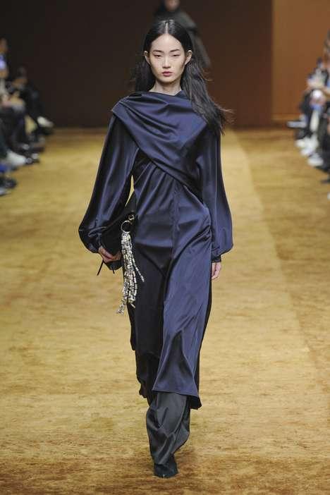 Wrapped Fashion Ensembles
