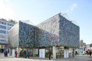Repurposed Plastic Pavilions