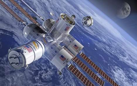 Opulent Space Hotels - The 'Aurora Station' Space Hotel is Envisioned to Host Four Guests at a Time