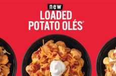 Loaded Tater Tot Platters - Taco John's New Loaded Potato Olés Feature Decadent Toppings