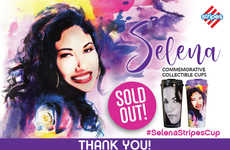 Tribute-Paying Tumblers - Stripes is Selling Limited-Edition Selena Quintanilla Cups