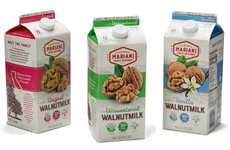 Californian Walnut Milks - The Mariani Nut Co. Makes Original, Unsweetened and Vanilla 'Walnutmilk'