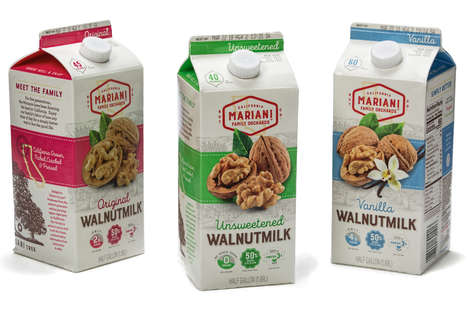 Californian Walnut Milks