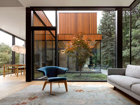 Canadian Multi-Generational Homes - Williamson Williamson Created a Sleek and Modern Building