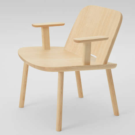 Collaborative Designer Wooden Chairs