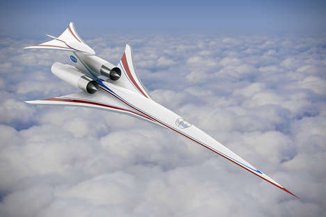 Ultra-Quiet Supersonic Jets - The NASA X-Plane Eliminates the Boom Associated with Supersonic Travel